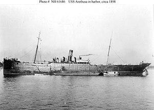 USS Arethusa (1898-1927, later AO-7)