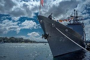 USS Chosin - Image: USS Chosin (CG 65) at Barangaroo during the International Fleet Review 2013