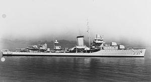 Военный корабль США Хенли (DD-391)