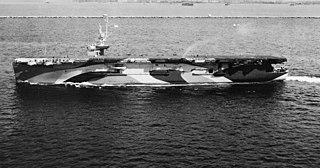 USS <i>Hollandia</i> Casablanca-class escort carrier of the US Navy