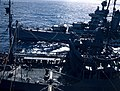 USS Minneapolis (CA-36) refueling at sea from a fleet oiler, in January 1944 (80-G-K-109).jpg