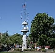 USS Oregon mast