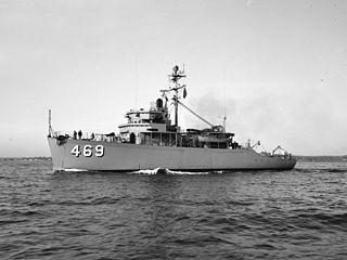 USS <i>Sagacity</i> (MSO-469)