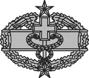 U.S. Army Combat Medical Badge, 3rd Award