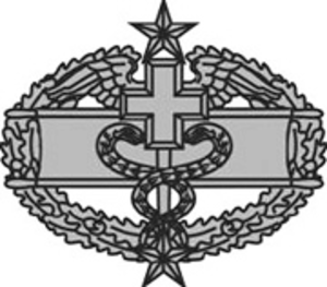 Combat Medical Badge - Third Award