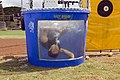 US Navy 070427-N-4856G-024 Lt. (Dr.) Andrew Baldwin, of Lancaster, Pa., stationed at Mobile Diving and Salvage Unit (MDSU) 1, holds his breath after being dunked.jpg