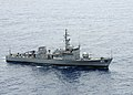 US Navy 090421-N-0120A-017 The Armed Forces of the Philippines Navy patrol boat BRP Artemio Ricarte (PS 37) maneuvers into position in a formation exercise with the amphibious assault ship USS Essex (LHD 2).jpg