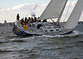 US Navy 101021-N-3857R-007 Members of the U.S. Naval Academy varsity and junior varsity offshore sailing teams practice in the Santee Basin near th.jpg