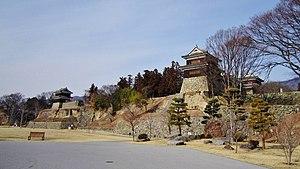 Ueda Castle - Ueda Castle