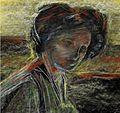 Umberto Boccioni, 1(882 – 1916), Untitled Portrait, c.1909. Pastel on paper., Harn Museum.jpg