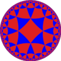 Alternated octagonal or tritetragonal tiling is a uniform tiling of the hyperbolic plane.
