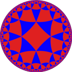 Alternated octagonal tiling