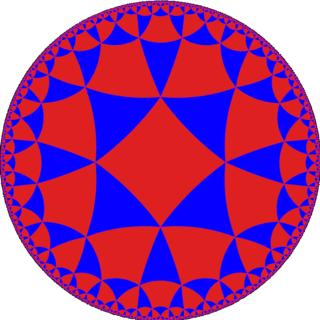 Alternated octagonal tiling uniform tiling of the hyperbolic plane