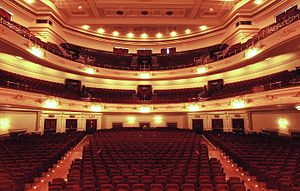 Usher Hall - The auditorium