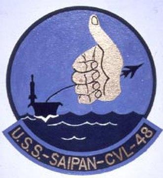 USS Saipan (CVL-48) - Insignia of USS Saipan