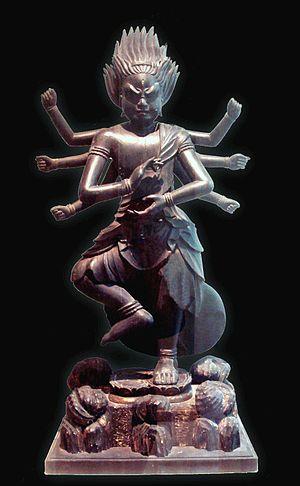 Ucchusma - The Wisdom King Ucchusma.