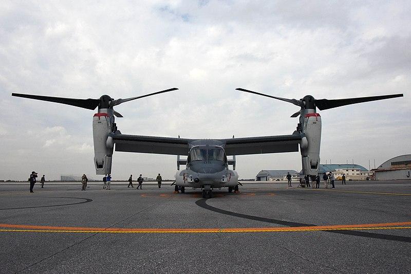 陸上自衛隊V-22