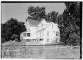 VIEW FROM THE SOUTHEAST - Seth Knowles House, Fort Hill Road, Eastham, Barnstable County, MA HABS MASS,1-EAST,10-2.tif