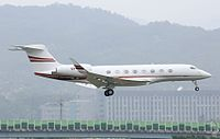VP-BLF - G650 - TAG Aviation Asia