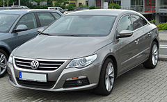 VW Passat CC przed face liftingiem