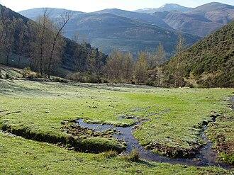 Cabreira - Valdouteiru valley near Quintanilla de Losada.