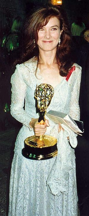 Valerie Mahaffey - Valerie Mahaffey at the Governor's Ball after the 1992 Emmy Awards