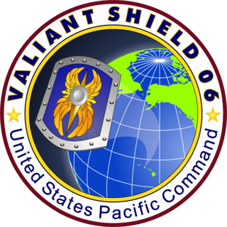 Exercise Valiant Shield United States military war game held during 2006 in the Pacific Ocean