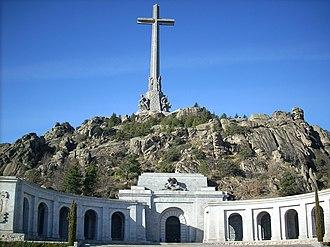 National Catholicism - Valle de los Caídos in El Escorial, exemplary building of the Francoist era-style.