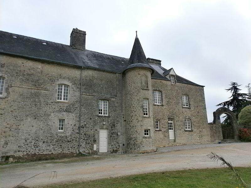 Valognes, Manoir du Haut-Gallion: façade extérieure