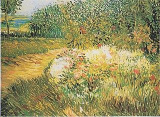 Corner of Voyer d'Argenson Park at Asnieres