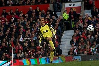 Edwin van der Sar - Edwin van der Sar for Manchester United during the 2010-11 season
