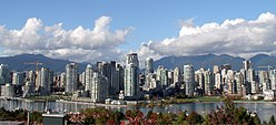 Skyline of Vancouver