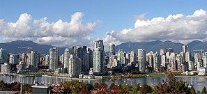 Vancouver manzarası