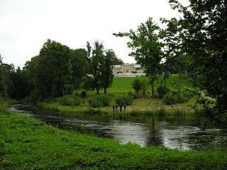 Река Вардува у д. Рянавас