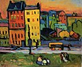 Vassily Kandinsky, 1908 - Houses in Munich.jpg
