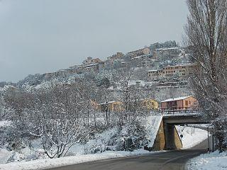 Fossato di Vico Comune in Umbria, Italy