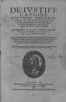 De iustificatione doctrina universa, 1572