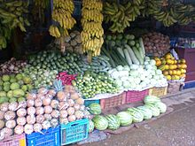 Vegetable In India