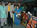 Veteran film star Dev Anand visits the photo exhibition at Kala Academy on the occasion of 37th International Film Festival of India (IFFI-2006) in Panaji, Goa on December 2, 2006.jpg