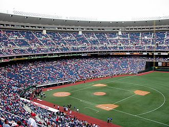 Veterans Stadium - The Phillies' final game at the Vet; September 28, 2003.
