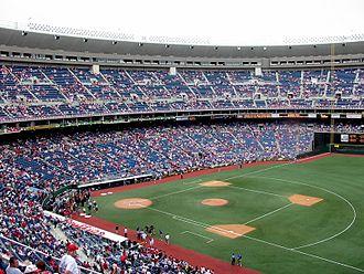 Veterans Stadium - The Phillies' final game at the Vet; September 28, 2003.