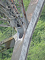 Viaduc du Viaur - Noeud au droit d'un arc.JPG