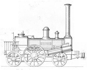 Arbroath and Forfar Railway - James Stirling and Co 2-2-2 locomotive for the Arbroath and Forfar Railway