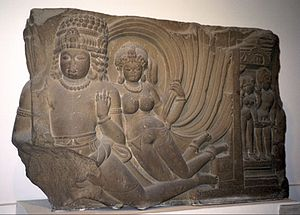 English: ~ Vidyadharas ~ ° Sondni, near Mandsa...