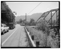 View East, North end - Chelyan Bridge, Spanning Kanawha River at U.S. Route 61 spur, Chelyan, Kanawha County, WV HAER WVA,20-CHEY,1-3.tif