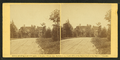 View down a country road, house visible through foliage, by Gardner, Alexander, 1821-1882.png
