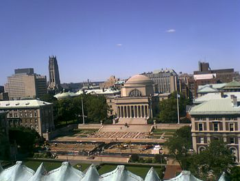 View of Columbia University