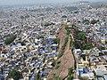 View of Jodhpur city from Mehrangarh Fort.jpg