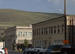 Skyline of downtown Okanogan