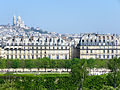 View of Sacré-Cœur from Musée d'Orsay, 23 April 2015.jpg